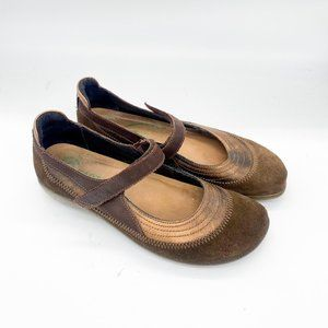 Naot Kirei Brown Mary Jane Shoes